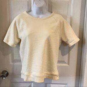 Everlane   Short Sleeve Sweatshirt